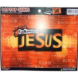 غلاف لابتوب - لون ناري (Jesus)