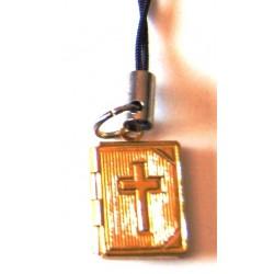 إنجيل تعليق للبلفون (لون ذهبي - حجم صغير)