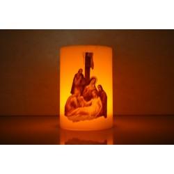 شمع مع بطارية (انزال يسوع عن الصليب)