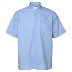 قميص كهنة YJHP ازرق فاتح صيفي