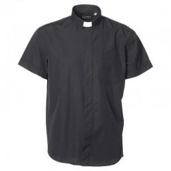 قميص كهنة YJHP اسود صيفي