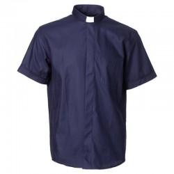 قميص كهنة YJHP كحلي صيفي