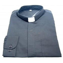 قميص كليرجي (لون أسود- كم طويل-M)