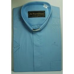 قميص كليرجي (لون أزرق-كم قصير-XL)