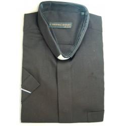 قميص كليرجي (لون أسود- كم قصير-M)