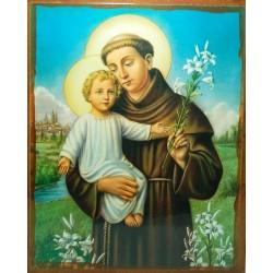 أيقونة القديس أنطون والطفل يسوع
