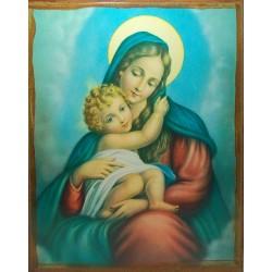 أيقونة مريم والطفل 1