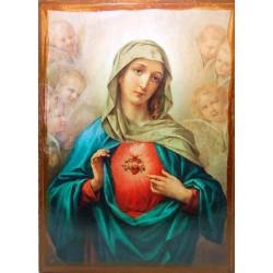 أيقونة قلب مريم الطاهر 2