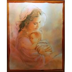 أيقونة مريم والطفل 5