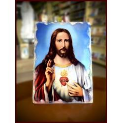 برواز قلب يسوع الأقدس مع قاعدة