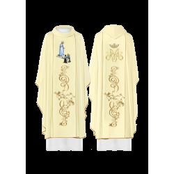 بدلة قداس مريمية - عذراء فاطيما