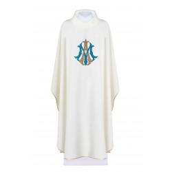 بدلة قداس ابيض - مريم