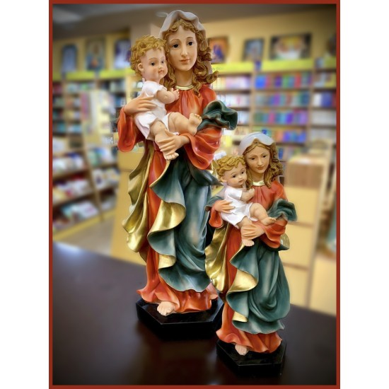 تمثال مريم العذراء مع الطفل يسوع
