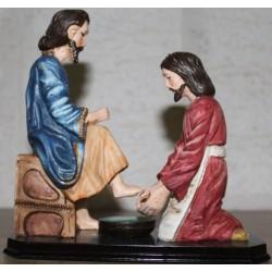 تمثال غسل الأرجل