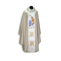 بدلة قداس ابيض - العائلة المقدسة