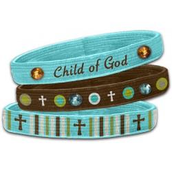3 اساور مطاطية-ابن الله