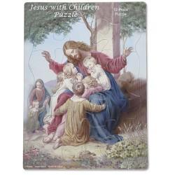 بزل يسوع والأطفال