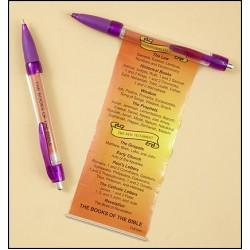 قلم كتب الإنجيل