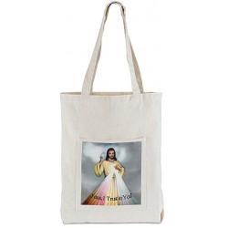 حقيبة قماش مع صورة Jesus I Trust