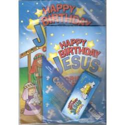 دفتر تلوين Happy Birthday Jesus