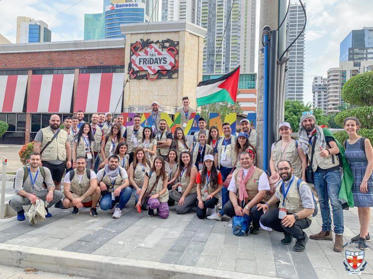 عاد الوفد الفلسطيني المشارك في الايام العالمية للشبيبة 2019